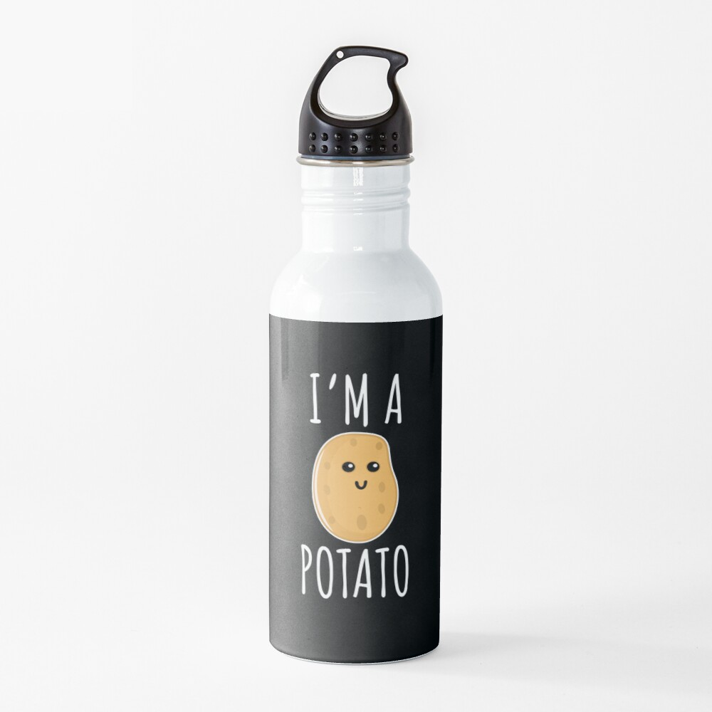I'm a Potato - Funny Potato gift Water Bottle