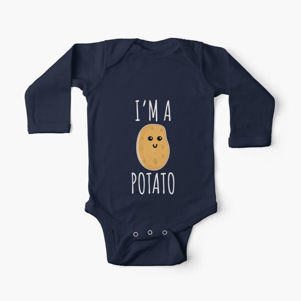 I'm a Potato - Funny Potato gift Baby One-Piece