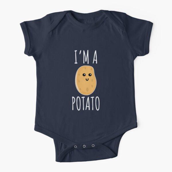 I'm a Potato - Funny Potato gift Short Sleeve Baby One-Piece