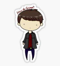 How Do Grimm? Sticker