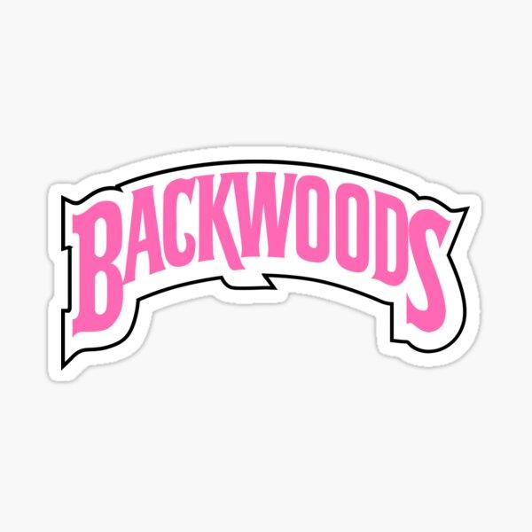 Backwoods pink Sticker