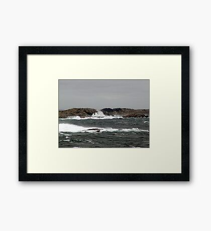 Wild Weather Framed Print