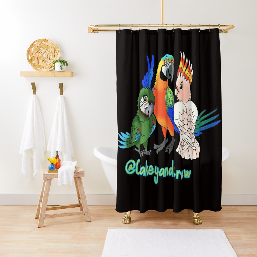 Oakey and Crew Shower Curtain
