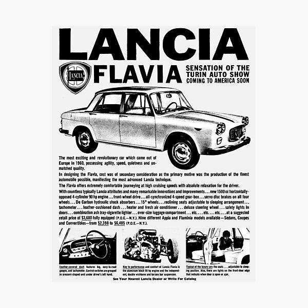 LANCIA FLAVIA Photographic Print