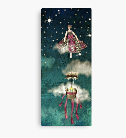 Fly and Fly S'omore by Alma Lee Canvas Print