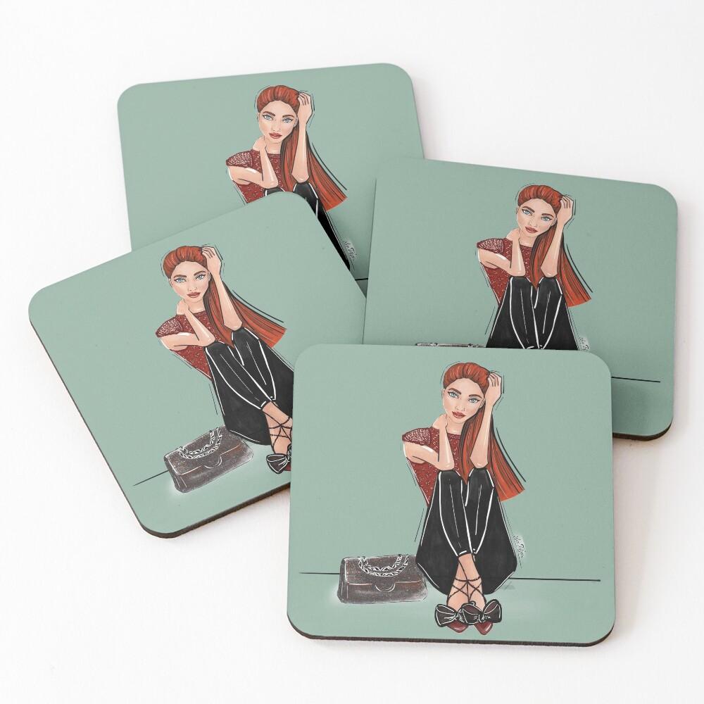 MJ Coasters (Set of 4)