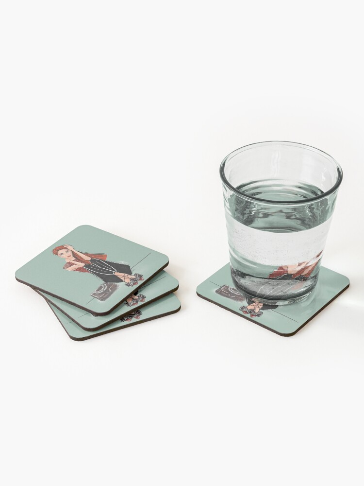 Alternate view of MJ Coasters (Set of 4)