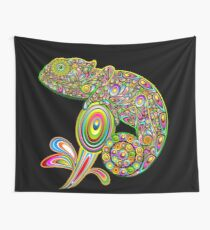 Chameleon Psychedelic Wall Tapestry