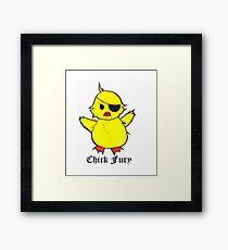 Chick Fury Framed Print