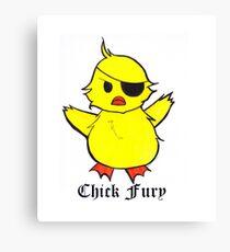 Chick Fury Canvas Print