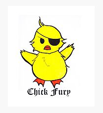 Chick Fury Photographic Print
