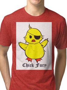 Chick Fury Tri-blend T-Shirt