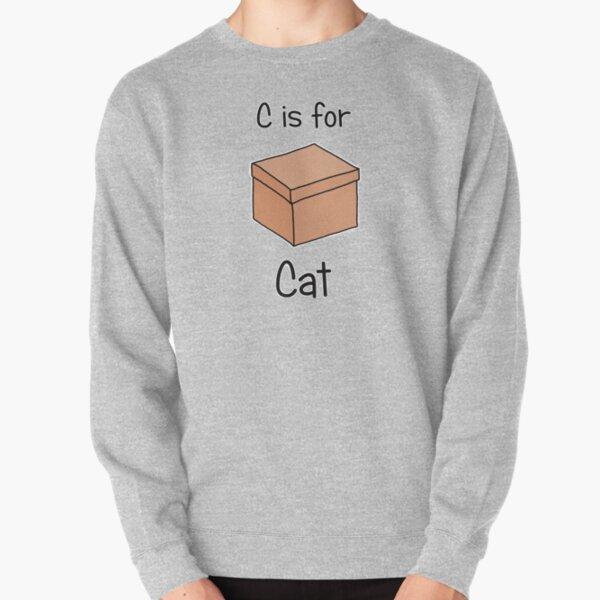 C is for Cat Pullover Sweatshirt