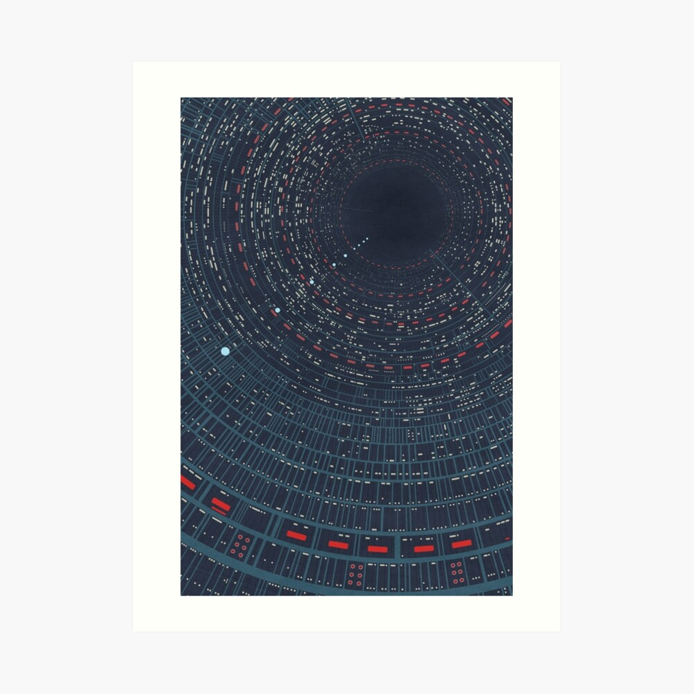 Cloud City airshaft Art Print