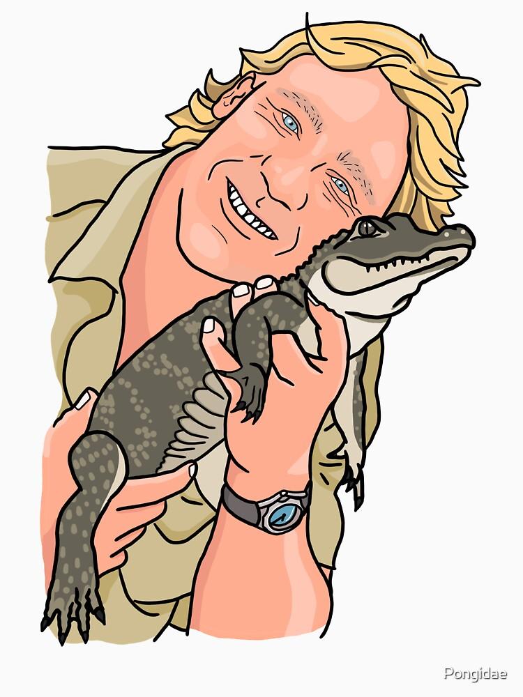 Steve Irwin by Pongidae