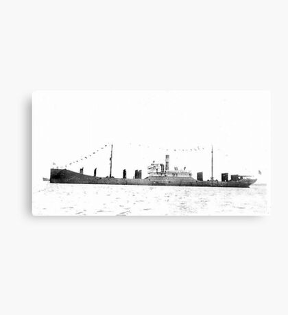 Bulk Carrier Isaac T Mann Canvas Print