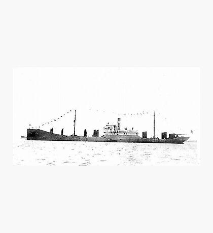 Bulk Carrier Isaac T Mann Photographic Print