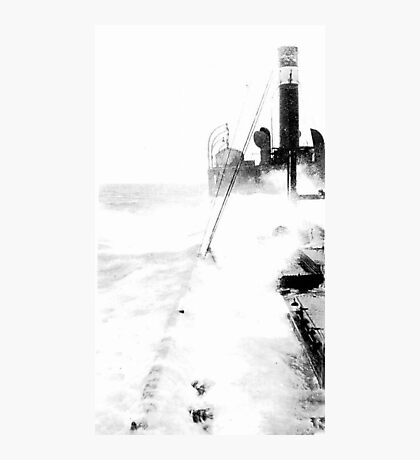 In The North Sea (2) Photographic Print