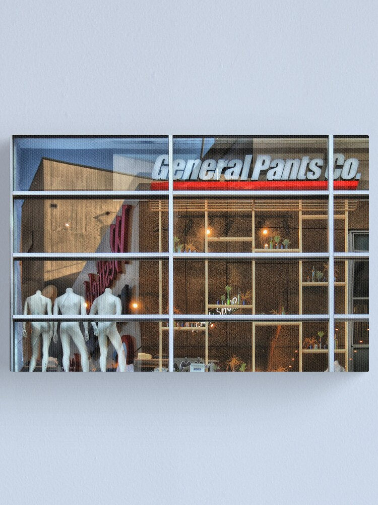 Alternate view of General Pants Co Canvas Print