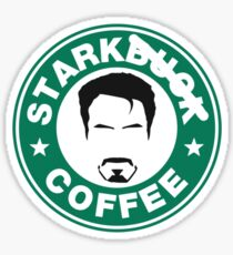 STARKBUCKS Sticker
