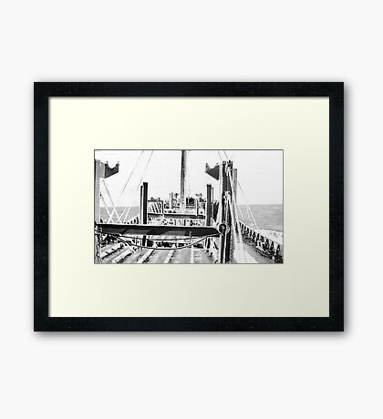 In The North Atlantic (2) Framed Print