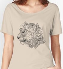 Beautifully Endangered - Snow Leopard Women's Relaxed Fit T-Shirt