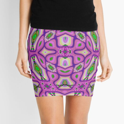 Psychedelic art, Art movement Mini Skirt