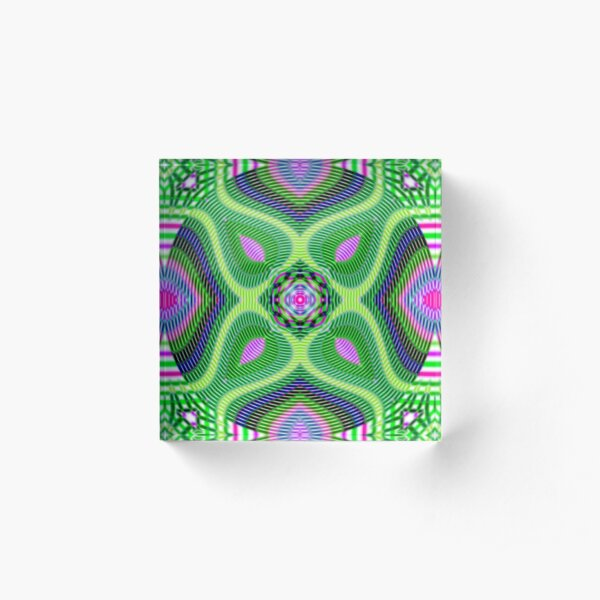 Psychedelic art, Art movement Acrylic Block
