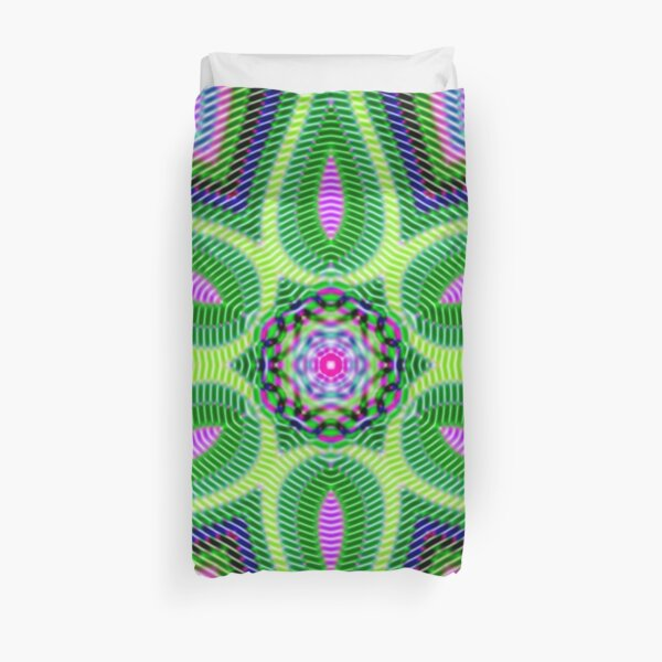 Psychedelic art, Art movement Duvet Cover