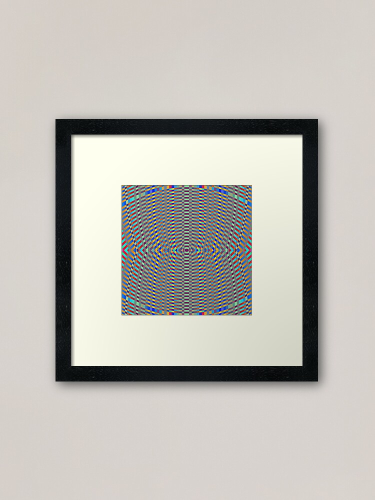 Alternate view of Psychedelic art, Art movement Framed Art Print