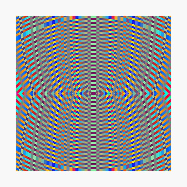Psychedelic art, Art movement Photographic Print