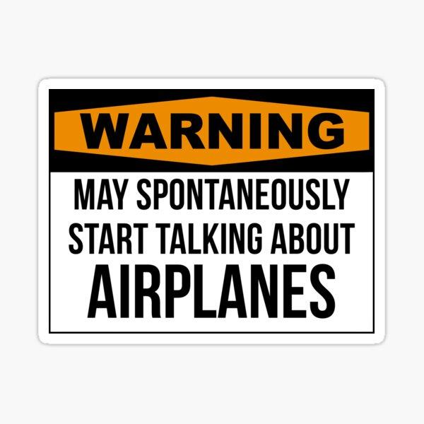 Aviation Sticker