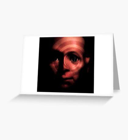 Horror Spinning Around Hugo Greeting Card