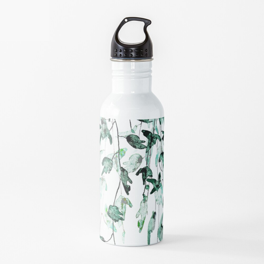 Ivy on the wall  Water Bottle