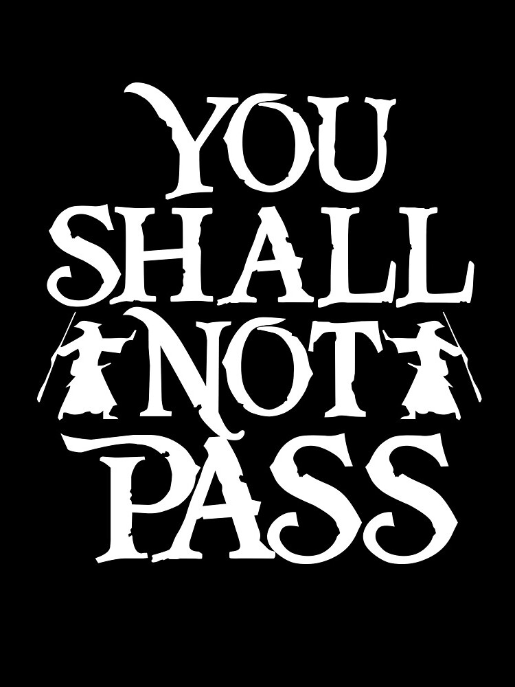 You shall not pass von Tanzwut