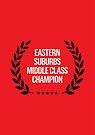 EASTERN SUBURBS MIDDLE CLASS CHAMPION by Steve Leadbeater