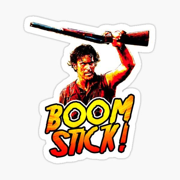 Boom Stick Ash Sticker