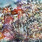 Am Kreuz festhalten von Marie Sharp