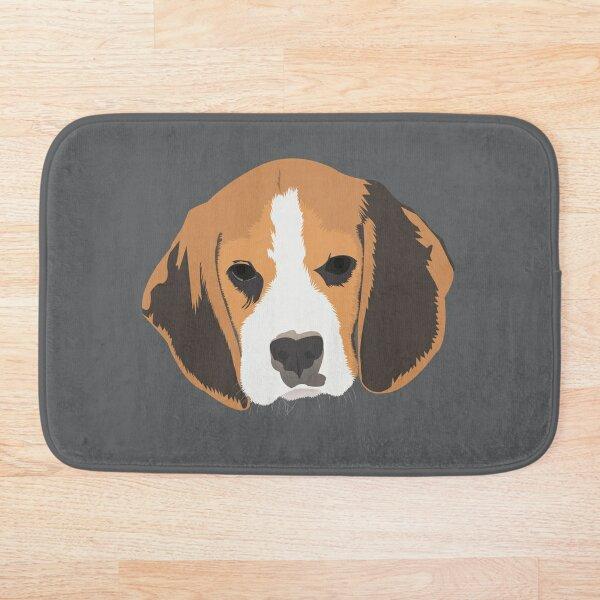 Benny the Beagle Bath Mat
