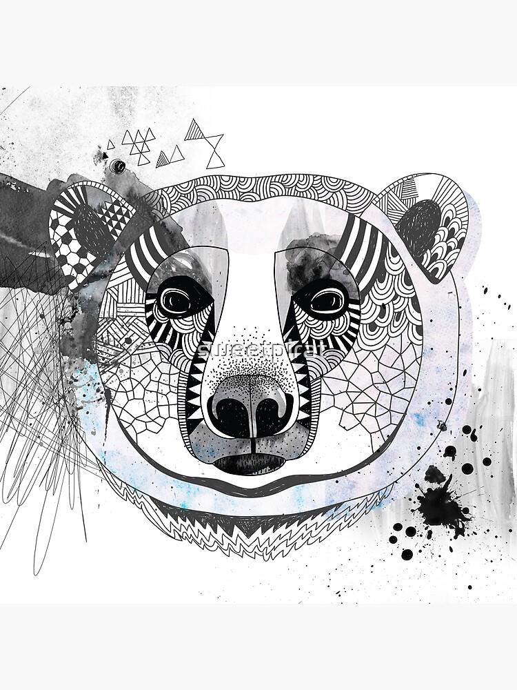 White bear by sweetpirat