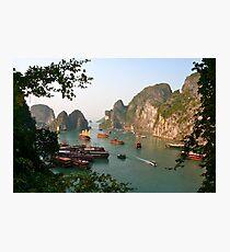 Vietnam, Halong Bay Photographic Print