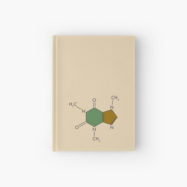 Caffeine Compound Hardcover Journal