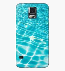 Pool Ripples Case/Skin for Samsung Galaxy