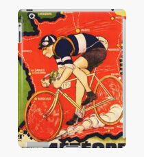 Vintage French bicycle race advert iPad Case/Skin