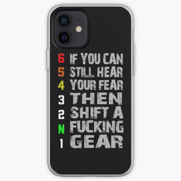 1N23456 Motorcycle iPhone Soft Case