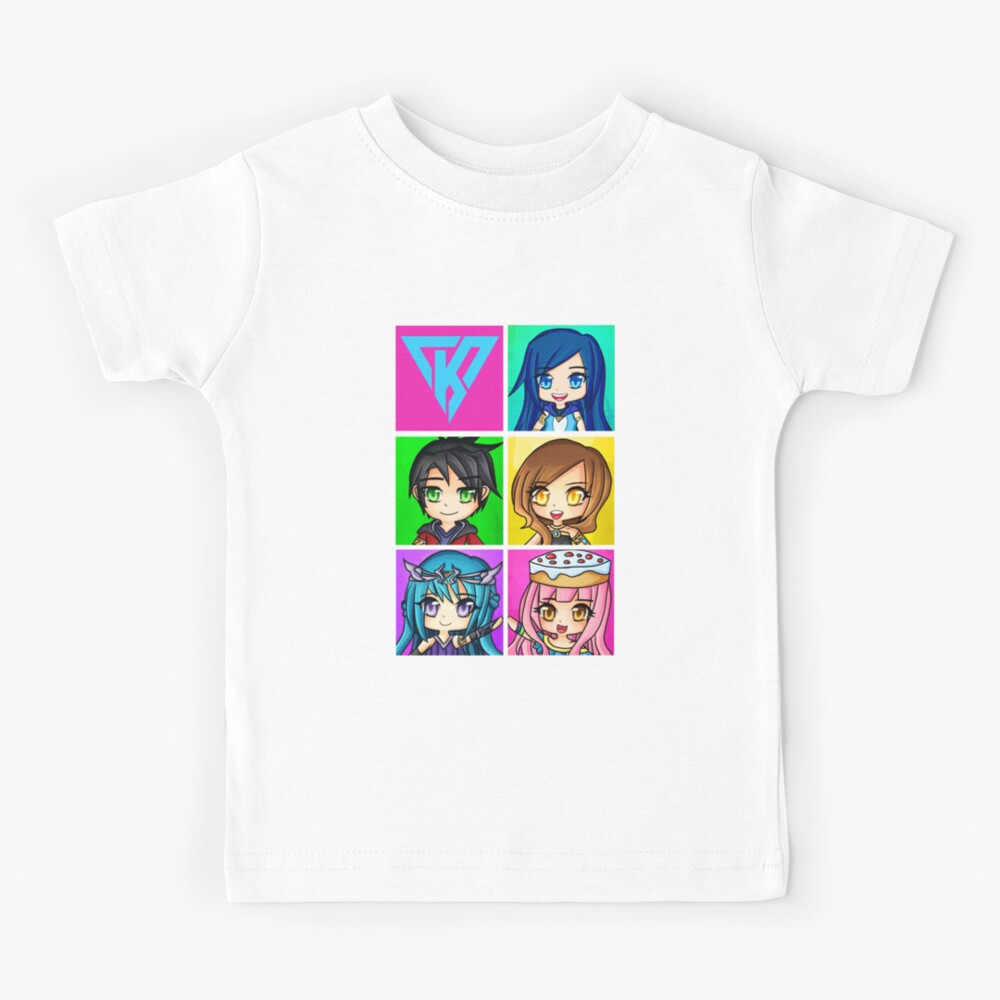 Funneh and the Krew - Anime Style Kids T-Shirt