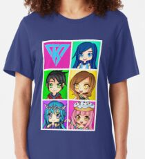 Funneh and the Krew - Anime Style Slim Fit T-Shirt