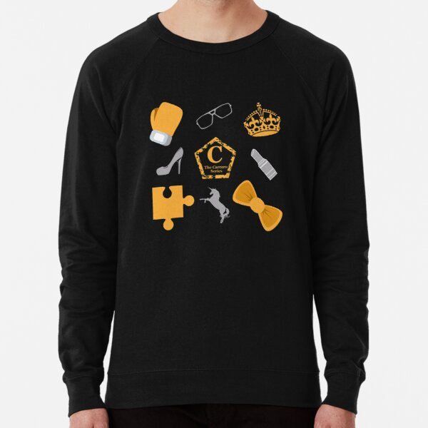 Official Black Carrero fabric Lightweight Sweatshirt