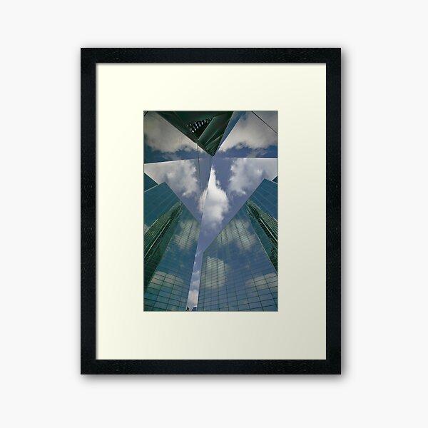Inside My Own Kaleidoscope Framed Art Print