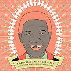Tata Madiba - A Good Heart (in peach) by catherine barnhoorn
